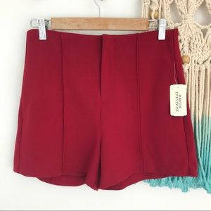 NEW Forever 21 Woven High Waisted Shorts Hi Rise